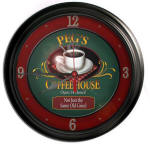Coffee House Bar Clock
