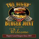 burger joint personalized bar coaster set