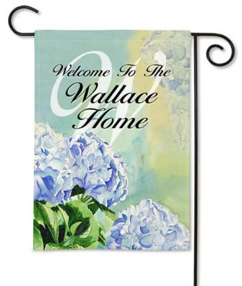Personalized Garden Flag and Housewarming gifts