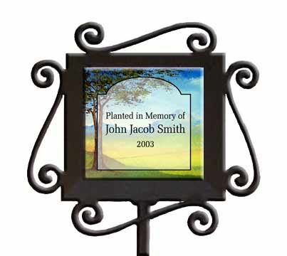 Personalized Garden Marker image