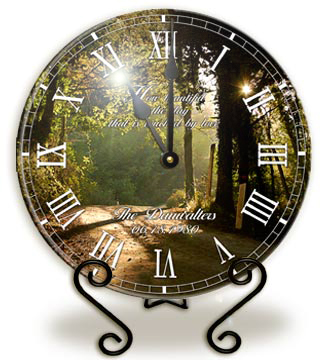 Personalized Glass Clocks image