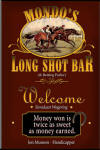Personalized horse racing bar sign