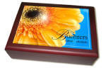 Yellow Daisy Keepsake Box