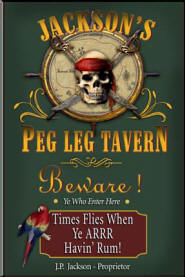 Pirate Bar Sign