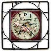 Personalized tile clocks