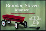 Little Red Wagon Sign
